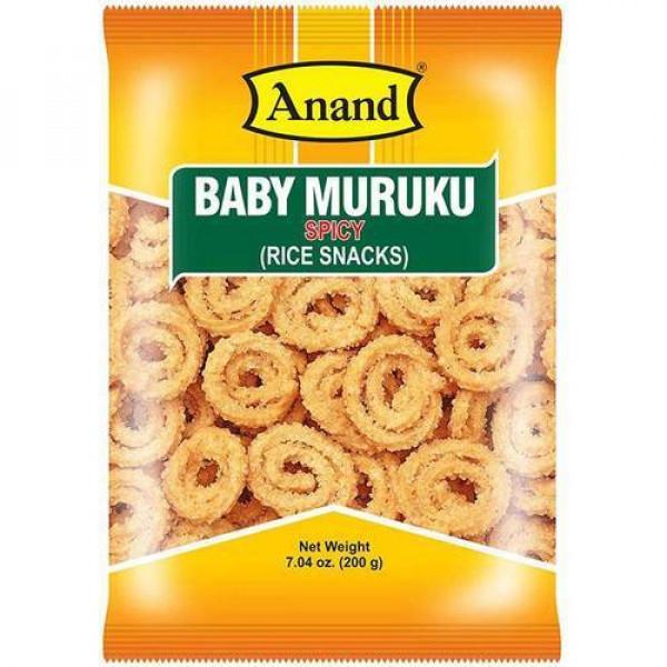 Anand Baby Murukku Spicy 7 Oz / 200 Gms