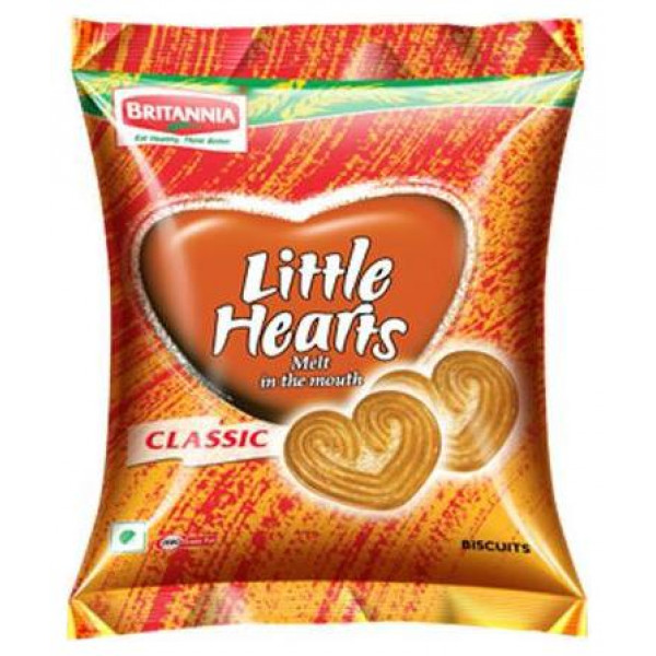 Britannia Little Hearts  70  Gms