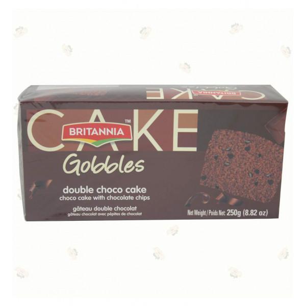 Britannia Gobbles Double Choco Cake 250Gms