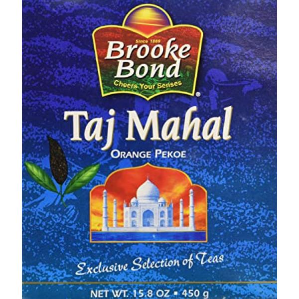Brooke Bond Taj Mahal Organic Pekoe 15.8 OZ / 448 Gms