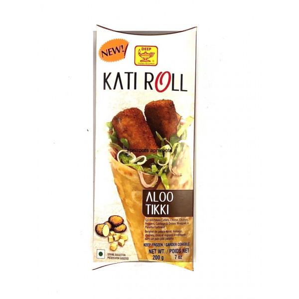 Deep Aloo Tikki Kathi Rolls 7 oz / 200 Gms