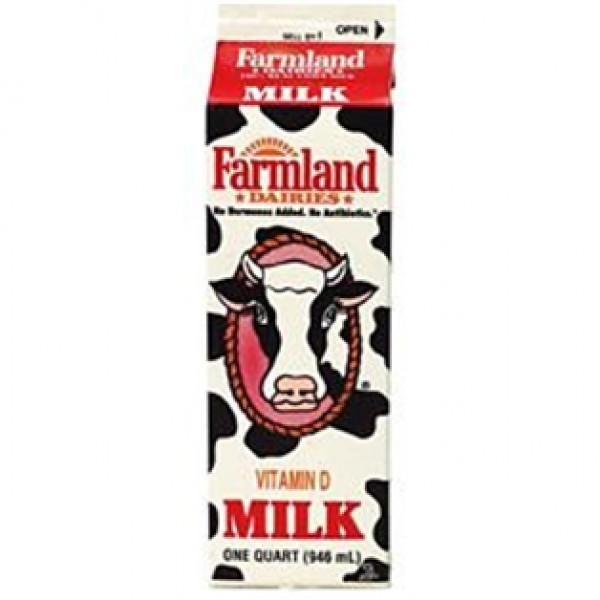 Farmland Whole Milk 1/2 Gallon