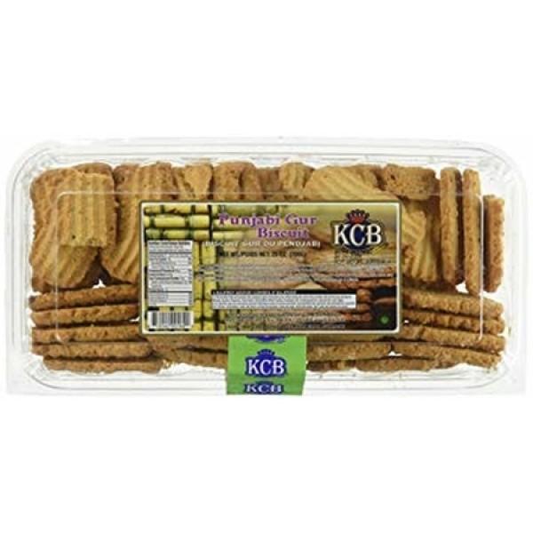 KCB Panjabi Gur Biscuits 25 Oz / 700 Gms