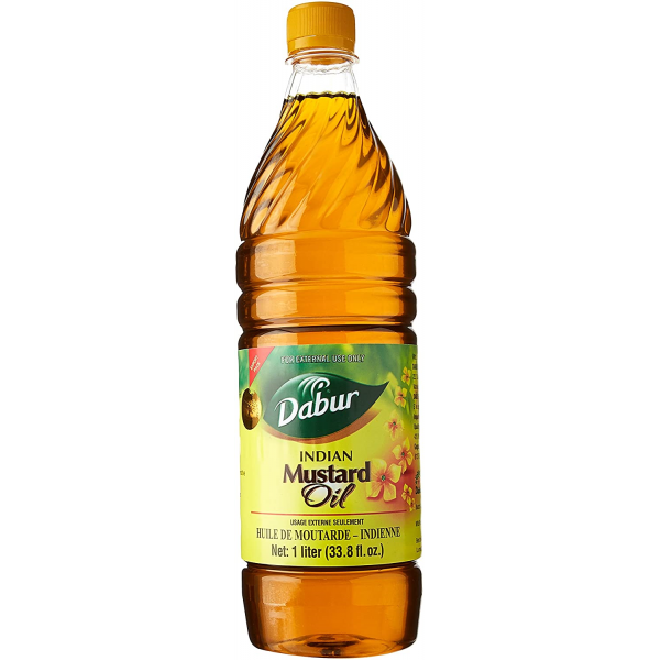Dabur Indian Mustard Oil 33.8 Fl Oz