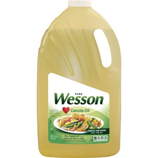 Wesson Canola Oil 3.79 lt