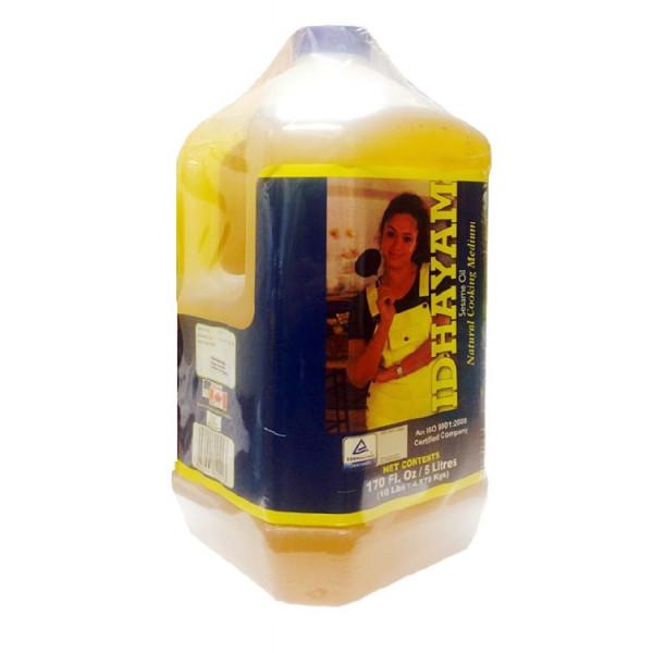 Idhayam Gingelly Oil 169 Fl Oz/5L