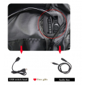 Backpack with ball/shoe holder and USB