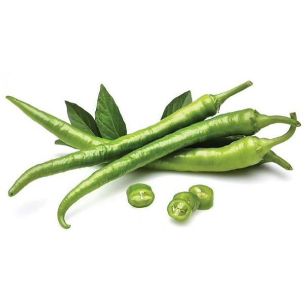 Fresh GREEN CHILLI SMALL $/Lb