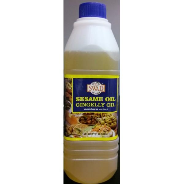 Swad Sesame Oil (Gingelly Oil) 17 Fl Oz