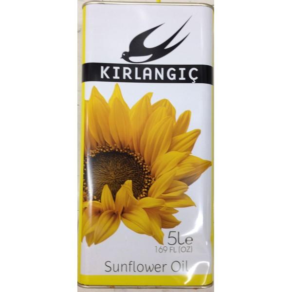 Kirlangic Sunflower Oil 169 Fl Oz