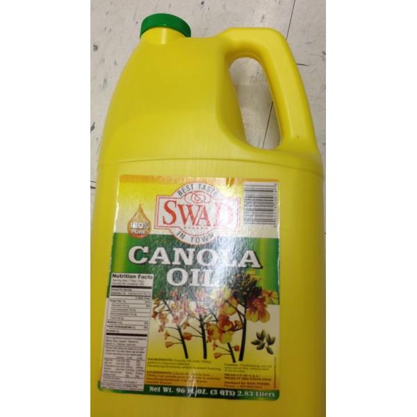 Swad Canola Oil 96 Fl Oz