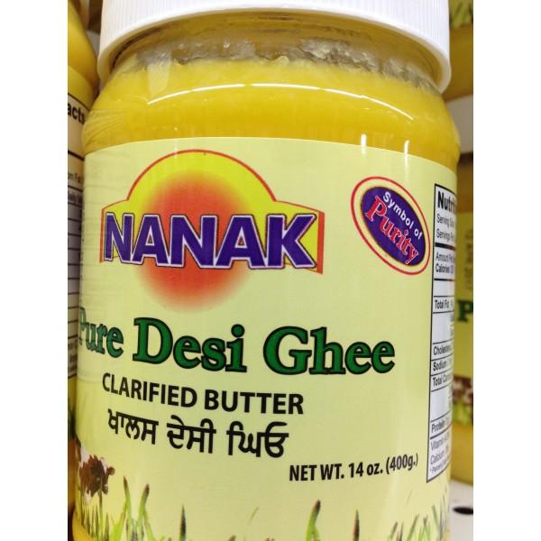 Nanak Pure Desi Ghee 14 Fl Oz
