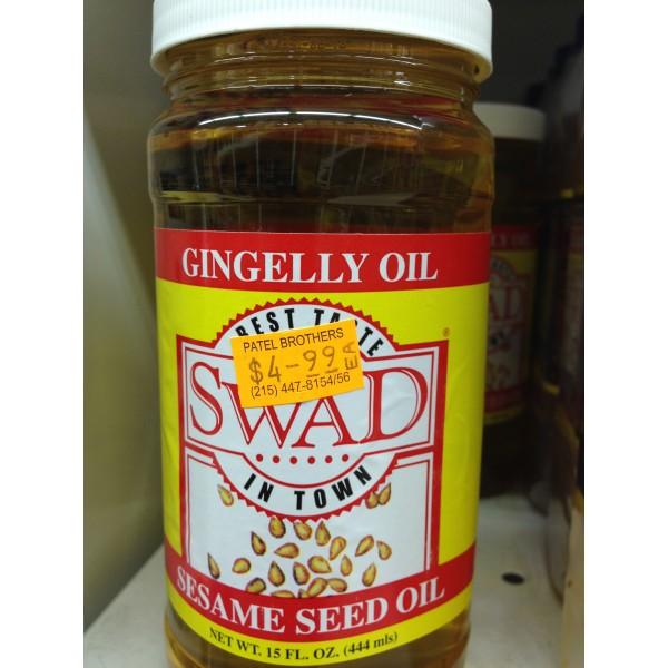 Swad Gingelly Oil 15 Fl Oz
