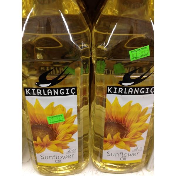 Kirlangic Sunflower Oil 68 Fl Oz