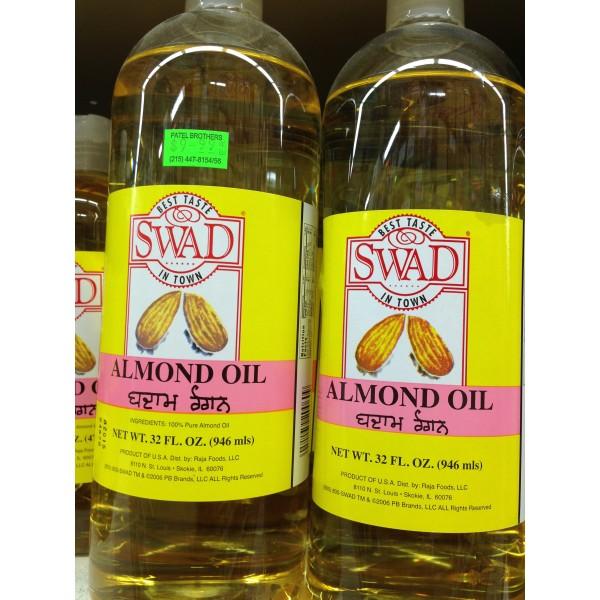 Swad Almond Oil 32 Fl Oz