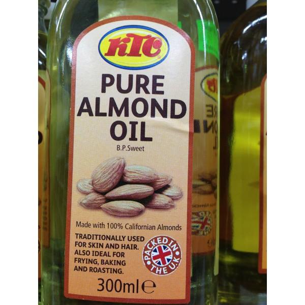 KTC Pure Almond Oil 10.14 Fl Oz