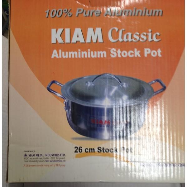 Kiam Classic Aluminium Stock Pot 10 oz / 300 Gms