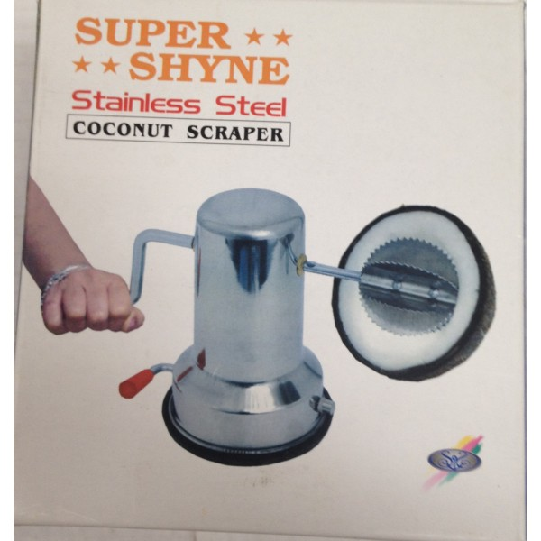 Super Shyne Coconut Scraper 12 oz / 340 Gms