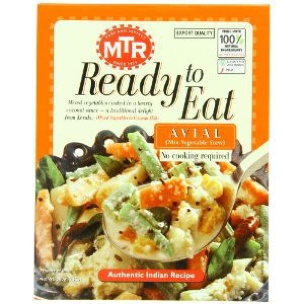 MTR Avial - Mix Vegetable Stew, Ready to Eat 10.56 Oz / 300 Gms