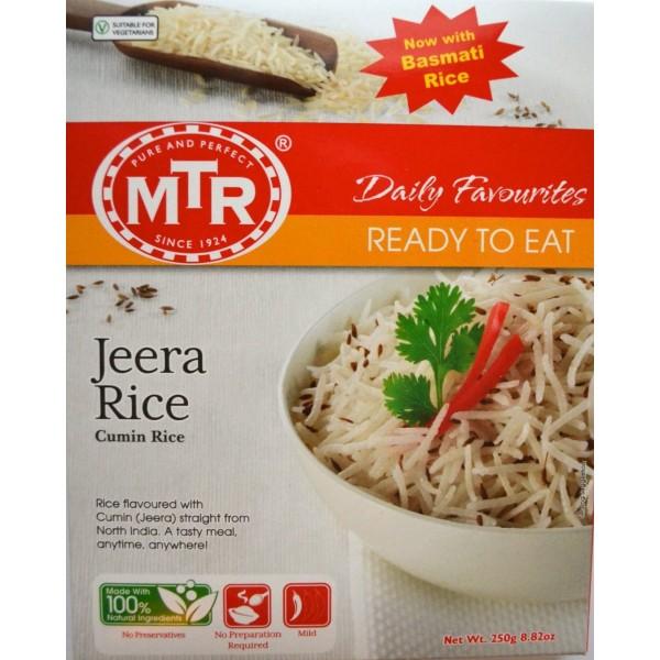 MTR Jeera Rice 8.82 OZ /  250 Gms