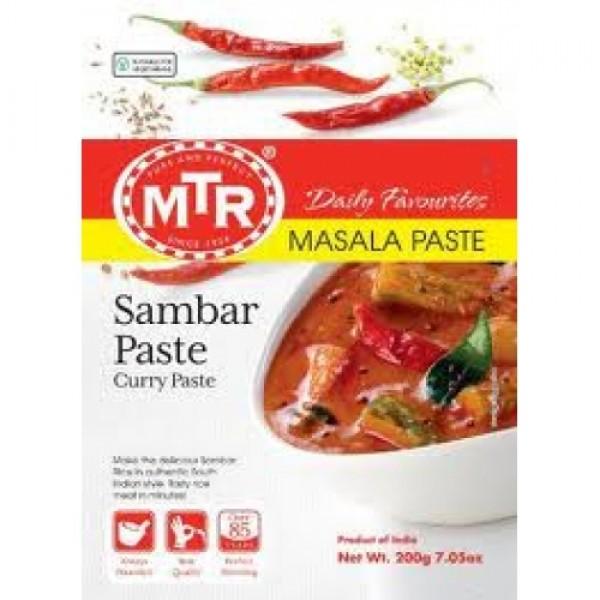 MTR Sambar Paste 7 OZ / 200 Gms