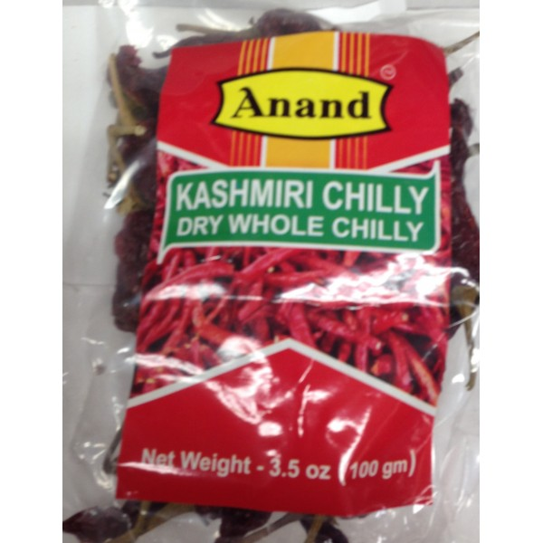 Anand Kashmiri Chilly 3.5 OZ / 100 Gms