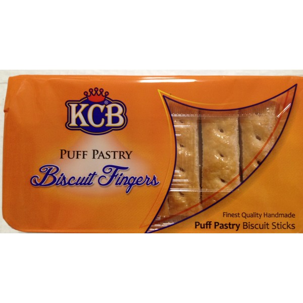 KCB Puff Pastry Biscuit Fingers 7 Oz / 200 Gms