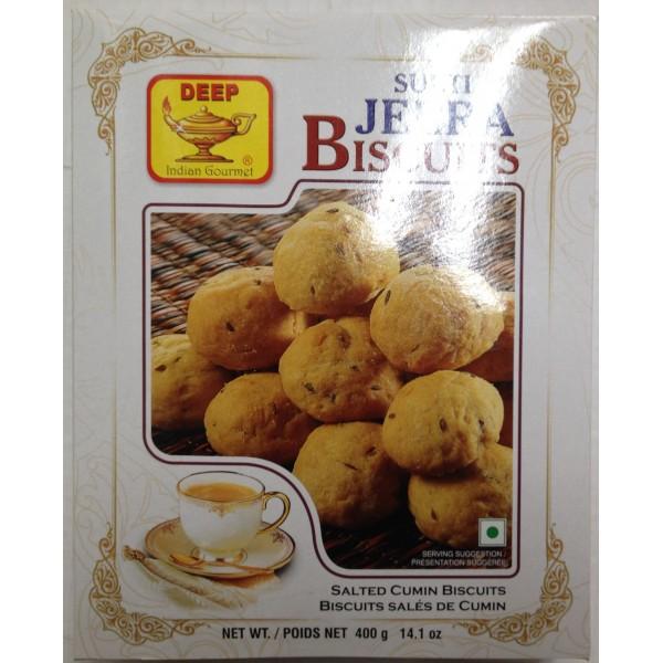 Deep Surti Jeera Biscuits 14.1 Oz / 400 Gms