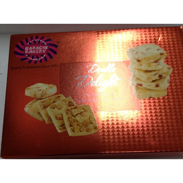 Karachi Bakery Double Delights 14 Oz / 400 Gms