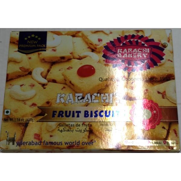 Karachi Bakery Fruit Biscuits 14 Oz / 400 Gms