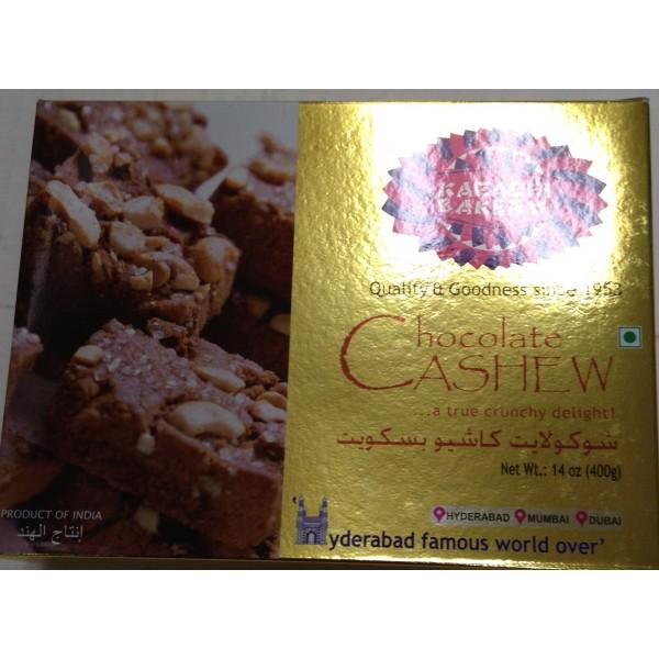 Karachi Bakery Chocolate Cashew 14 Oz / 400 Gms