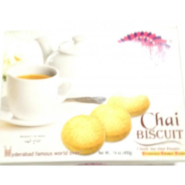 Karachi Bakery Chai Biscuits 14 Oz / 400 Gms