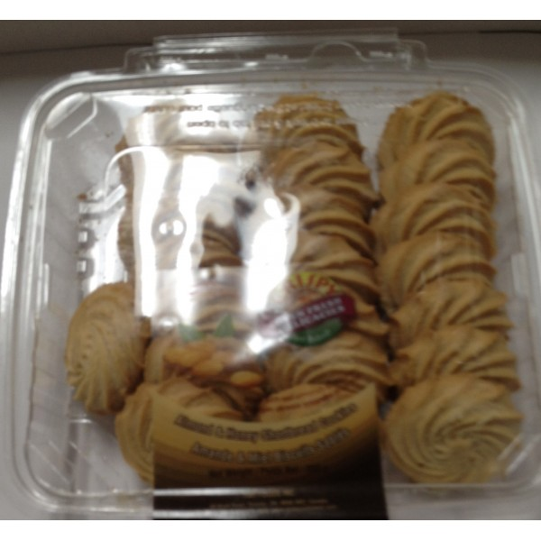 Crispy Almond Cookies 14 Oz / 400 Gms