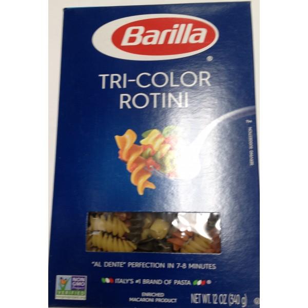 Barilla Tri-Color Rotin 12 Oz / 340 Gms