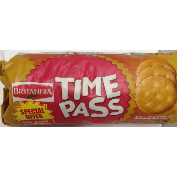 Britannia Time Pass 1.4 Oz / 40 Gms