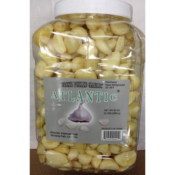 Atlantic Fresh Peeled Garlic 80 OZ / 22268 Gms