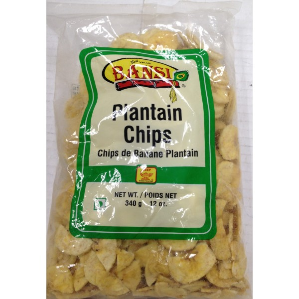 Bansi Plantain Chips 12 Oz / 340 Gms