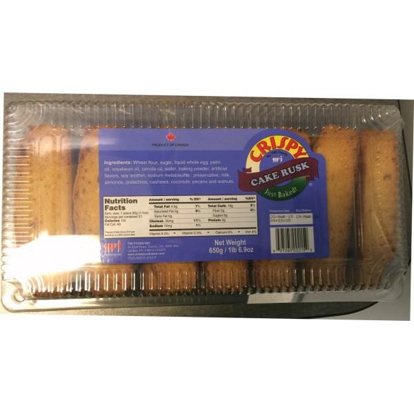 Crispy Cake Rusks  22.9 OZ / 649 Gms