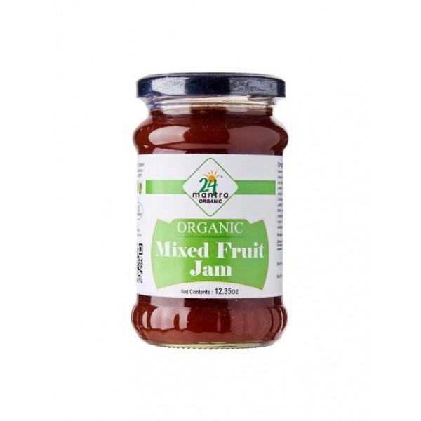 24 Mantra Organic Mixed Fruit Jam 12 Oz