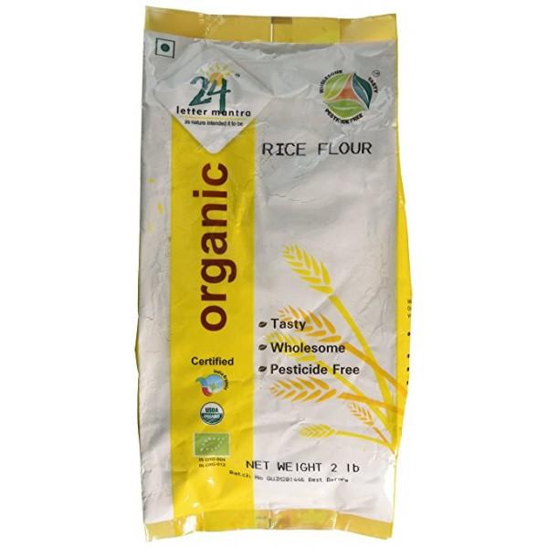 24 Mantra Organic Rice Flour / Atta 2 Lb / 908 Gms