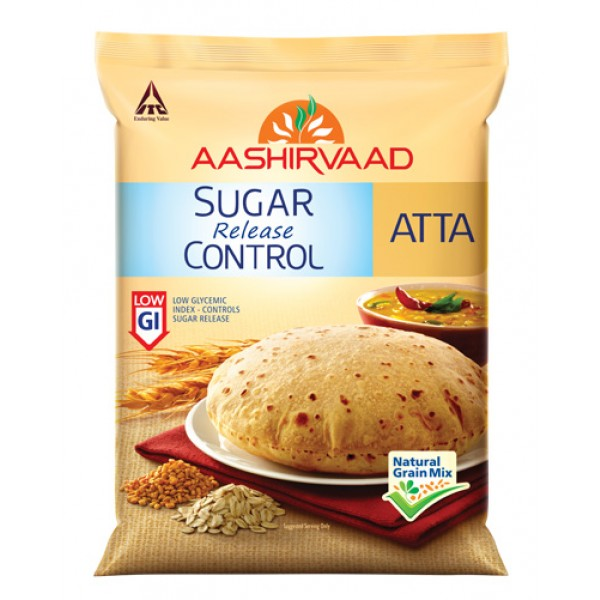 Aashirvaad Sugar Release Control Atta 10lb