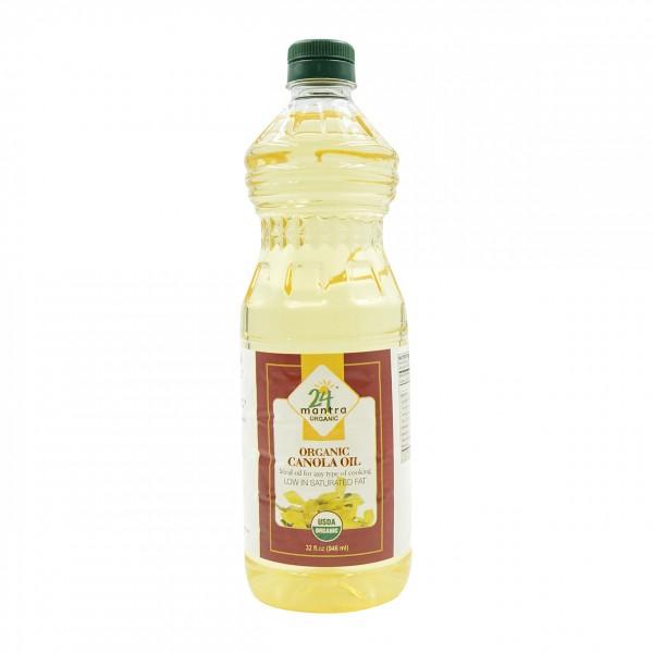 24 Mantra Organic Canola Oil 31 Oz / 946 ml