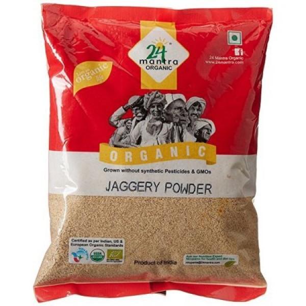 24 Mantra Organic Jaggery Powder 1 Lb / 453 Gms