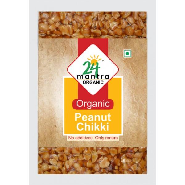 24 Mantra Organic Peanut Chikki 100 Gms