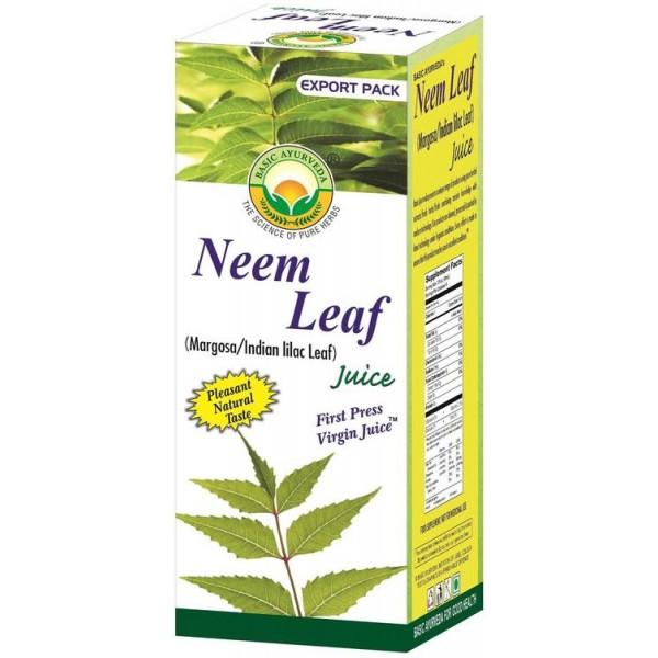 Basic Ayurveda Neem Leaf Juice 16.9 Oz / 480 Gms