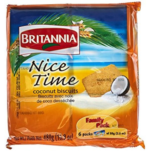 Britannia Nice Time   16.9 OZ / 480 Gms
